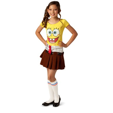 Girls Spongebob Squarepants Costume