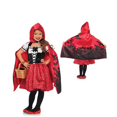Girls Storybook Riding Hood Halloween Costume