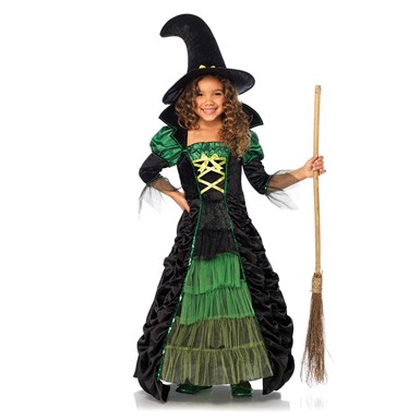 Girls Storybook Witch Dress Costume
