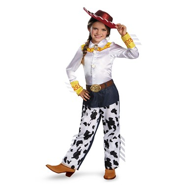 Girls Toy Story Jessie Prestige Costume