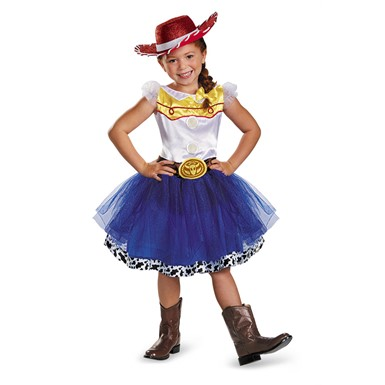 Girls Toy Story Jessie Tutu Costume
