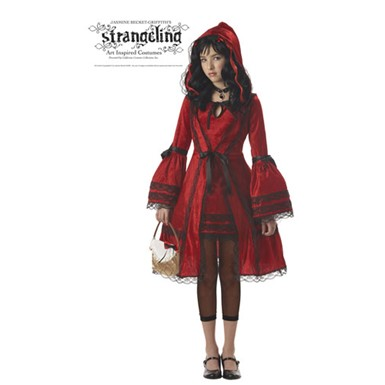 Girls Tween Red Riding Hood Halloween Costume