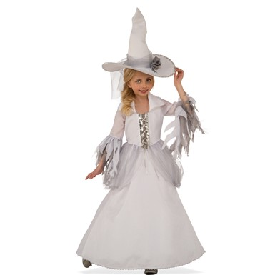 Girls White Witch Costume