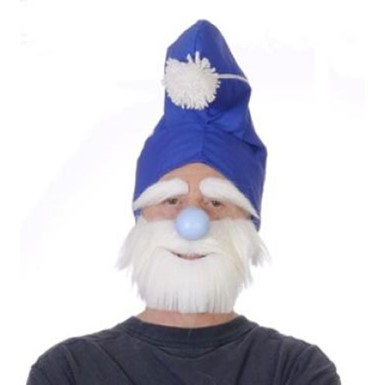 Gnome Beard and Eyebrows Halloween Costume Accessory