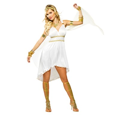 Goddess Olympia Costume - Womens