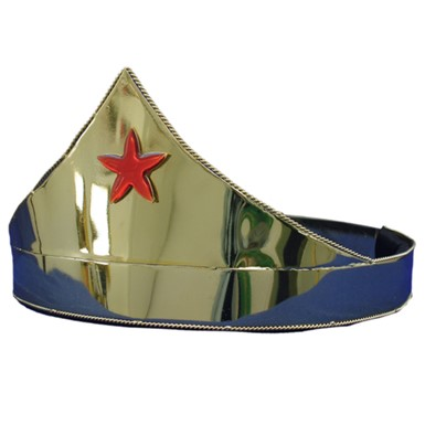 Gold Red Star Crown