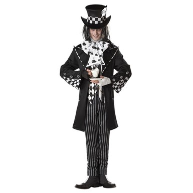 Gothic Mad Hatter Costume - Mens