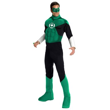 Green Lantern Deluxe Adult Halloween Costume