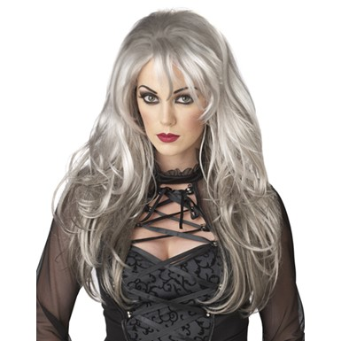 Grey Fallen Angel Wig