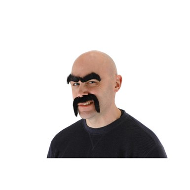 Halloween Facial Hair - Tough Guy