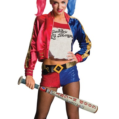 Harley Quinn Inflatable Costume Bat