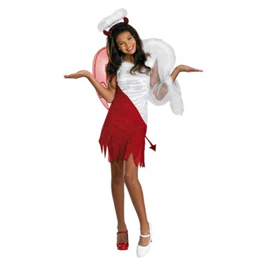 Heavenly Devil Childrens Angel and Devil Costume