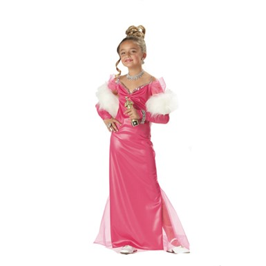 Hollywood Starlet Costume - Pink
