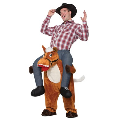 Horse Back Cowboy Rider Costume