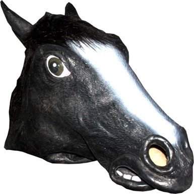 Horse Mask Animal Adult Halloween Costumes