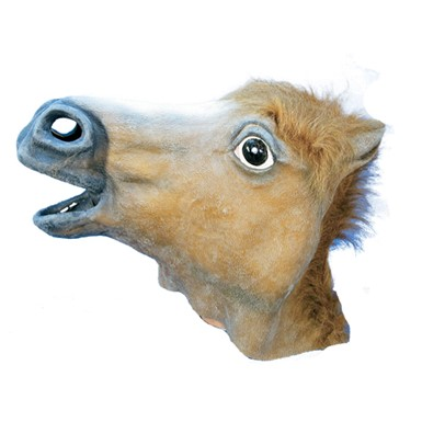 horse mask halloween costumes adult mens