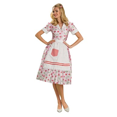 Housewife Costume - 50's Adult