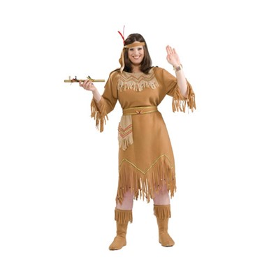 Indian Maiden Womens Halloween Costume Plus Size 16-22