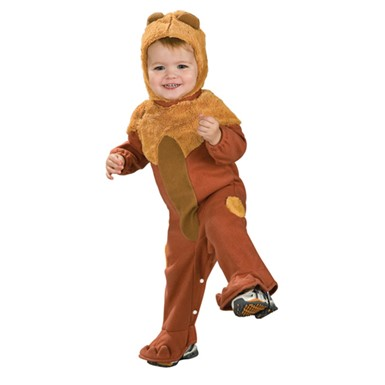 Infant Cowardly Lion Costume - Wizard of Oz Romper