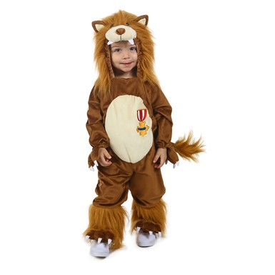 Infant Cowardly Lion Cuddly Costume