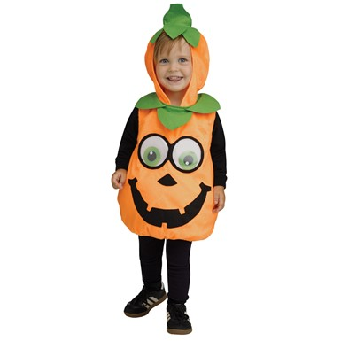 Infant Googly Eye Pumpkin Costume Up to size 24 Months