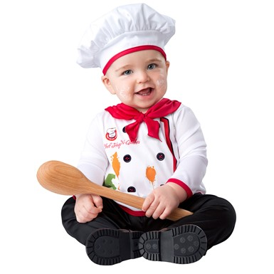 Infant Hugs & Quiches Chef Costume