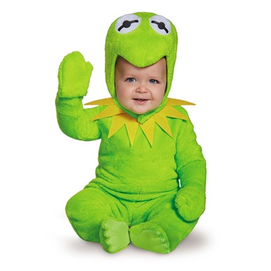 Infant Kermit the Frog Muppet Halloween Costume