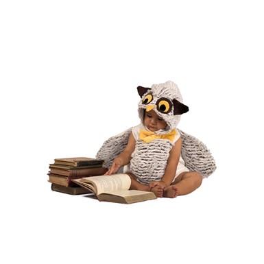 infant oliver the owl romper halloween costume