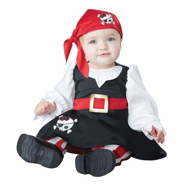 Infant Petite Pirate Girl Costume
