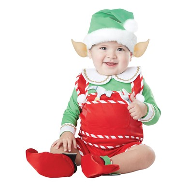 Infant Santa's Little Helper Costume