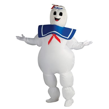 Inflatable Stay Puft Ghostbusters Costume Adult