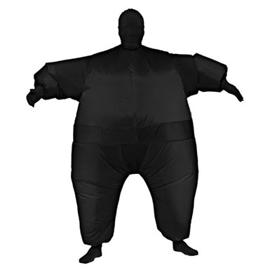 Inflatable Suit Costume - Black