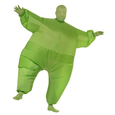Inflatable Suit Costume - Green