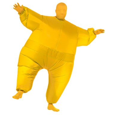 Inflatable Suit Costume - Yellow
