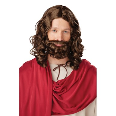 Jesus Wig and Beard
