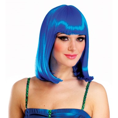 Katy Perry Short Blue Wig