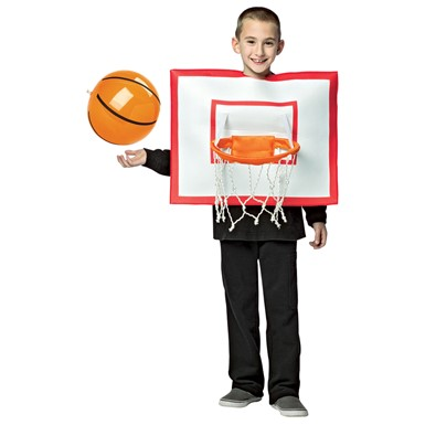 Kids Basketball Hoop Funny Costume size 7-10