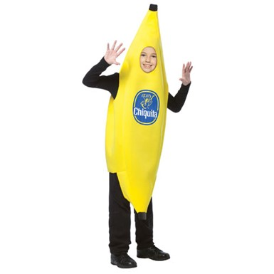 Kids Chiquita Banana Halloween Food Costume