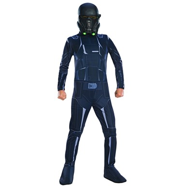 Kids Death Trooper Star Wars Rogue One Costume