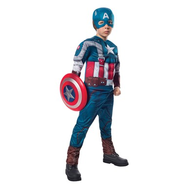 Kids Deluxe Captain America Retro Halloween Costume