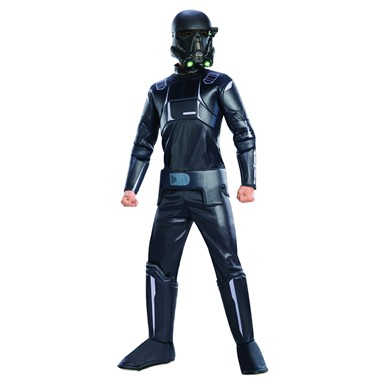 Kids Deluxe Death Trooper Star Wars Rogue One Costume