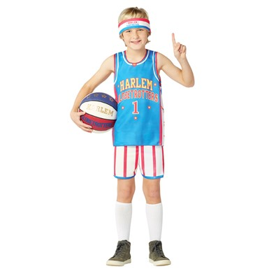 kids harlem globetrotters uniform costume size 7 10