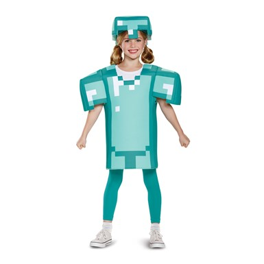 Kids Minecraft Armor Classic Halloween Costume