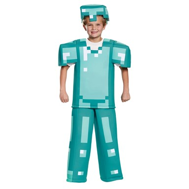 Kids Minecraft Armor Prestige Halloween Costume
