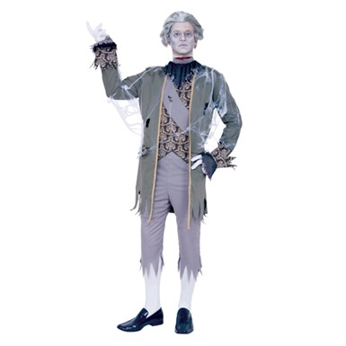 King Louis Ghost Zombie Mens Adult Halloween Costume