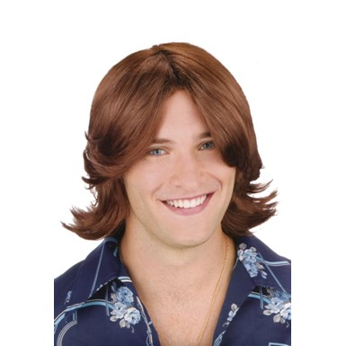 Ladies Man Suave Auburn Wig for Halloween Costume