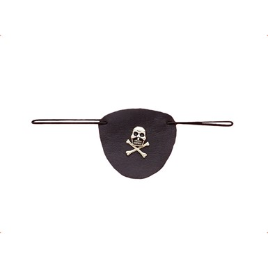 Leather Pirate Eye Patch