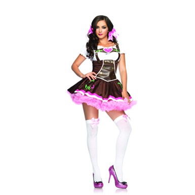 Lil German Girl Womens Gretchen Halloween Costume