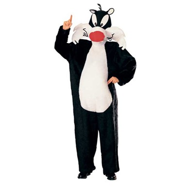 Looney Tunes Dlx Sylvester Adult Standard Costume