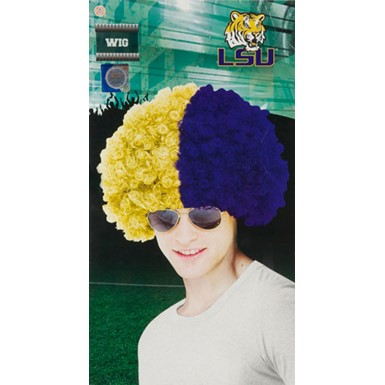 Louisiana State University Wig Halloween Accessory